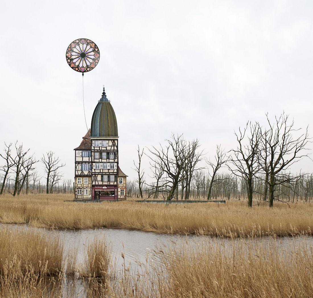 Matthias Jung: Surreale Architecture Land of evening