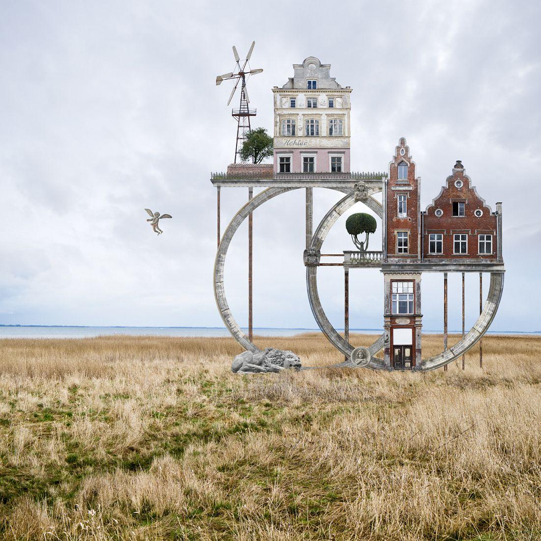 Matthias Jung: Surreale Architecture Ringschloss-klein