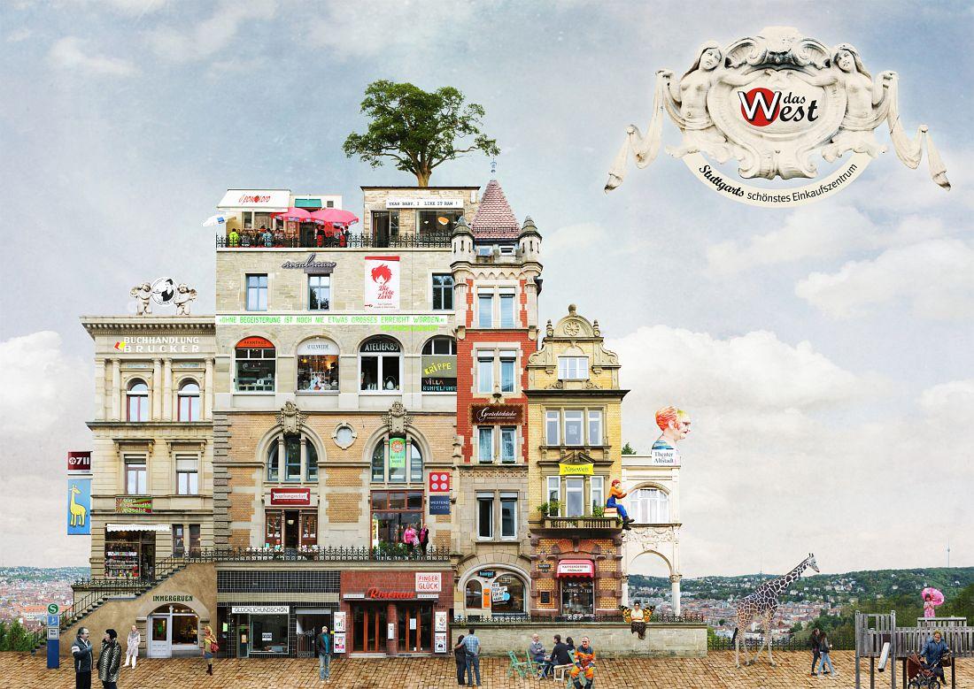 Matthias Jung: Surreale Architecture West_Poster A2.indd