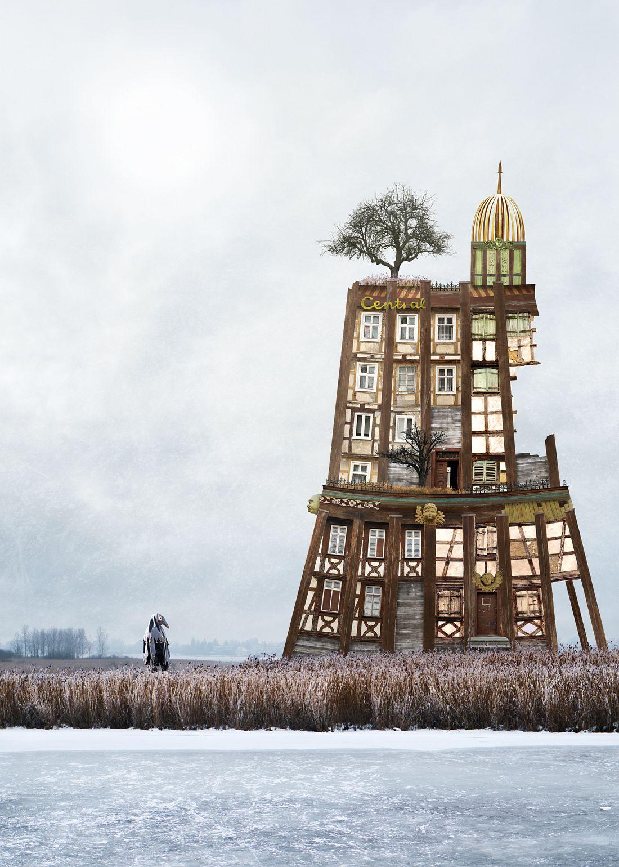 Matthias Jung: Surreale Architecture Zonenrandgebiet