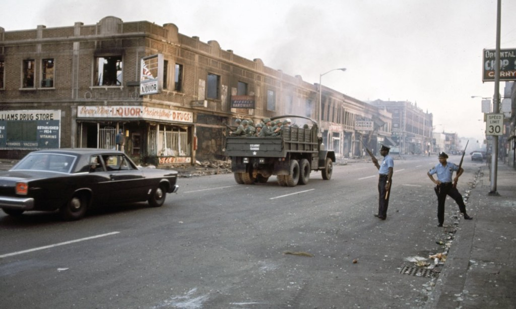 Riots in Detroit (1967)