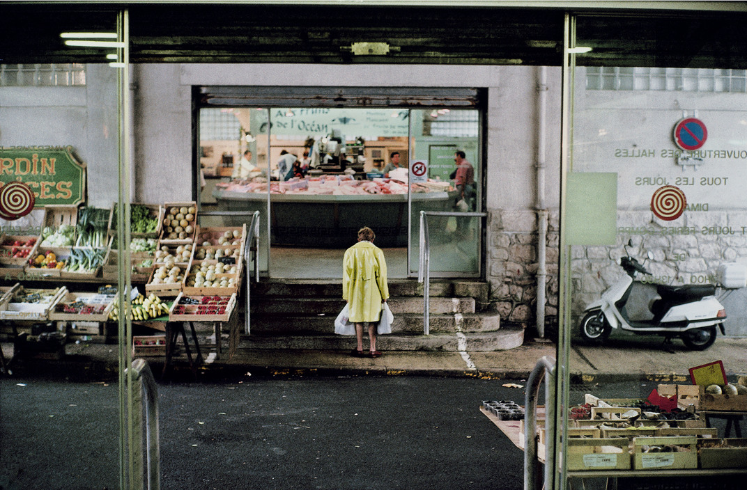 FRANCE. Biarritz. Covered market. 2000.