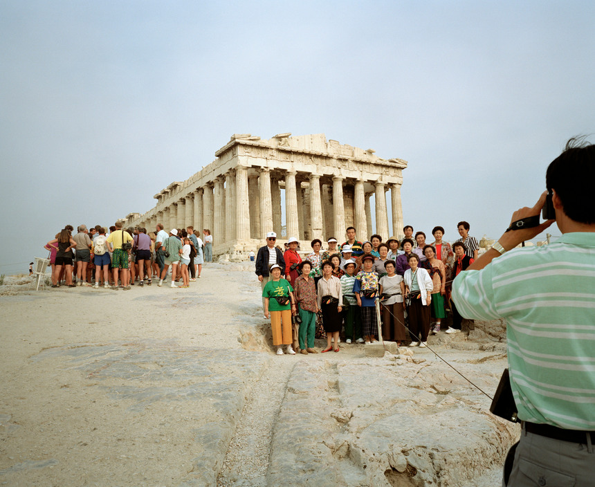 GREECE. Athens. Acropolis. From 'Small World'. 1991.