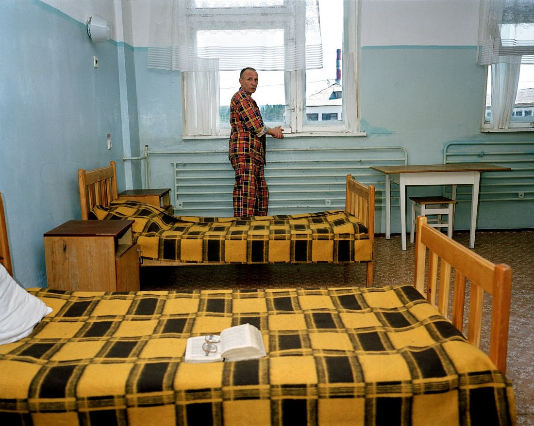 "Camp 37. Sosnovobosk. Prison camps. Former Goelags. Krasnoyarsk region. Siberia. Russia. Project ""Zona"". © Carl De Keyzer - Magnum"