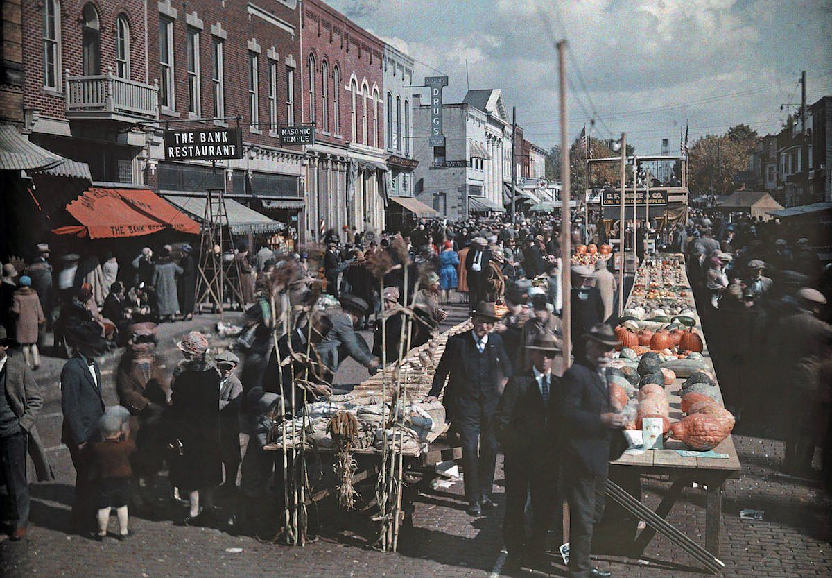 Autochromes First Color Photographs 1920s Photogrvphy