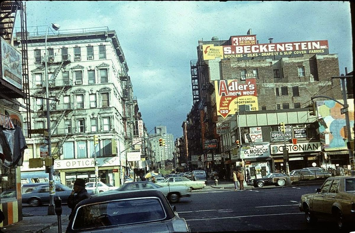 Dark Side Of New York City 1970s Photogrvphy
