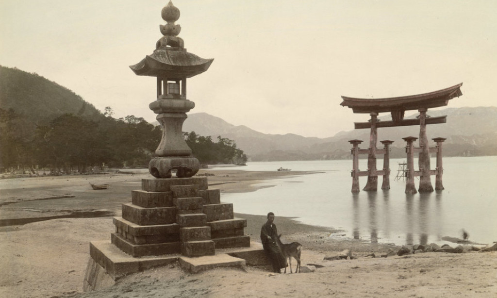 19th century color photos from Japan