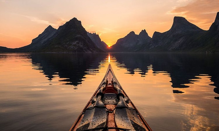 Tomasz Furmanek: The Fjords Of Norway From The Kayak Seat