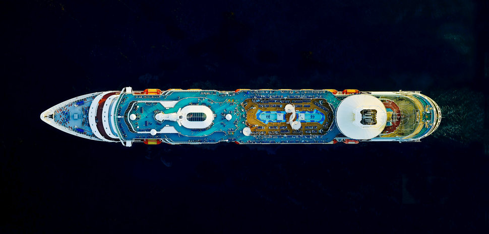 Cruise Ships © Jeffrey Milstein