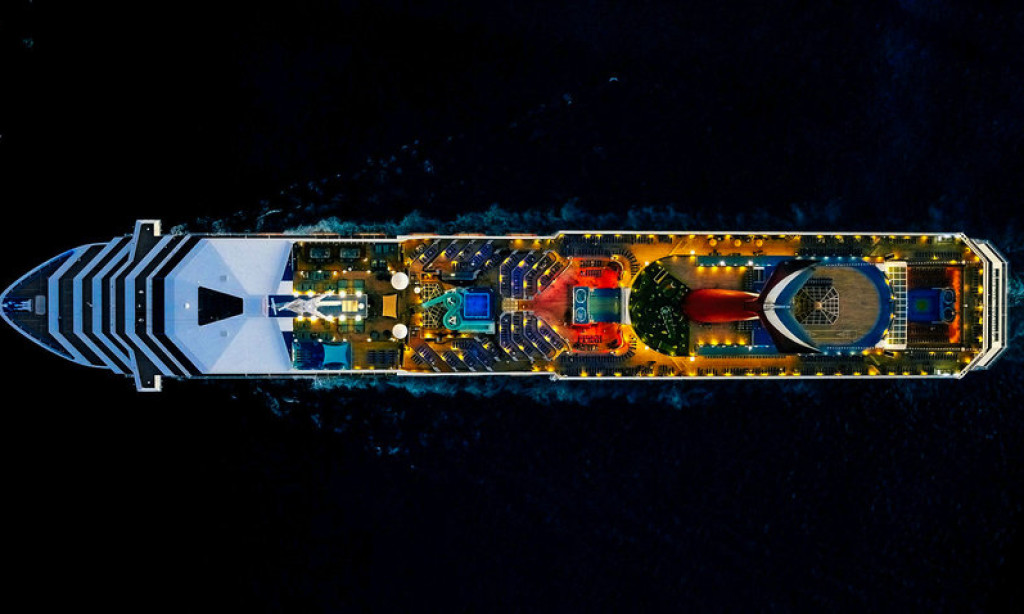 Aerial Typology of Cruise Ships by Jeffrey Milstein