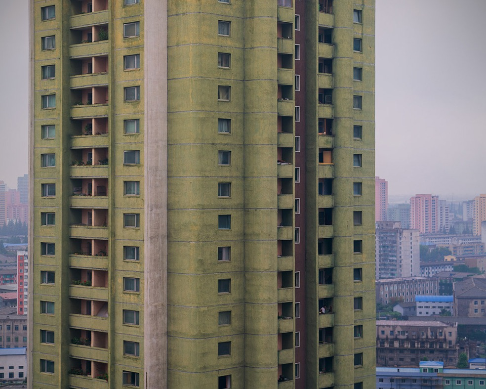 North Korea Vintage Architecture © Raphael Olivier
