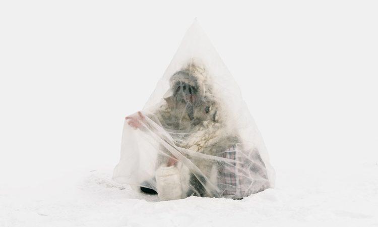Aleksey Kondratyev: Ice Fishers