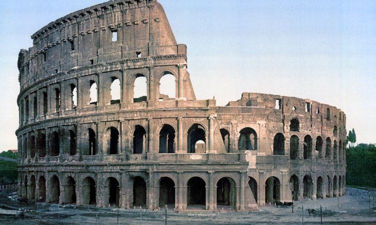 Vintage Photochroms of Rome c. 1890