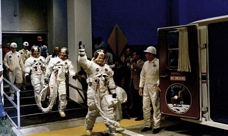 Vintage NASA Photos of Apollo 11 Training
