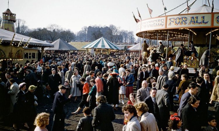 London Easter Fair by Bert Hardy (1956)
