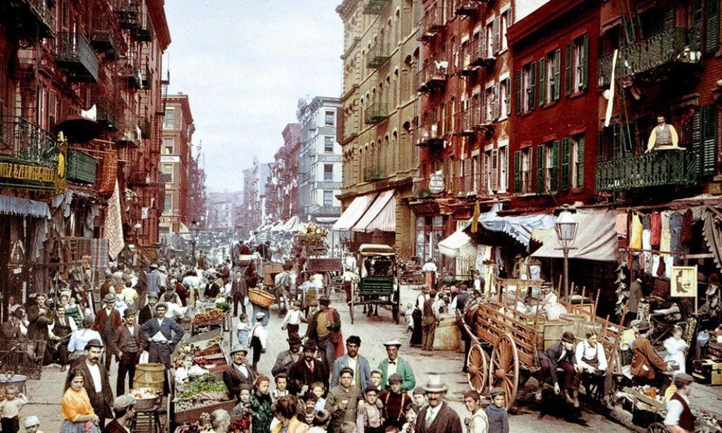 Photochroms of New York City from 1900s