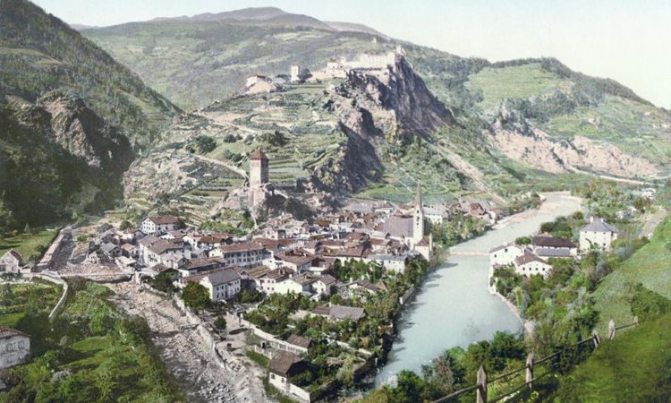 Photochroms of Tyrol from 1890s