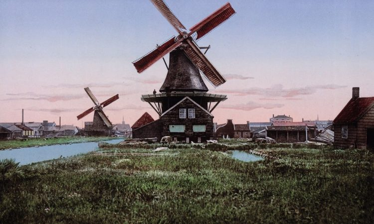Photochroms of Netherlands from 1890s