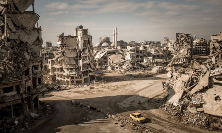 Christian Werner: Rubble and Delusion